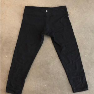 LuluLemon Black Legging Size 8